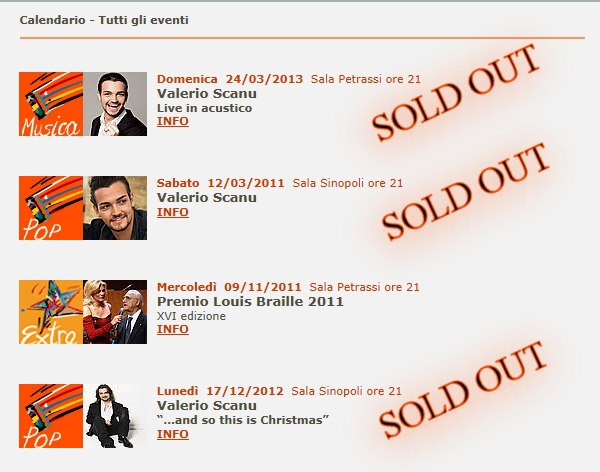 Soldout