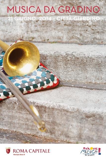 locandina musica da gradino