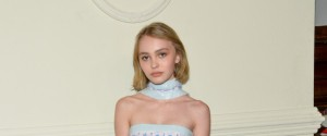 Lily-Rose Depp arrives at the CHANEL Paris-Salzburg 2014/15 Metiers d'Art Collection fashion show at the Park Avenue Armory on Tuesday, March 31, 2015, in New York. (Photo by Evan Agostini/Invision/AP)