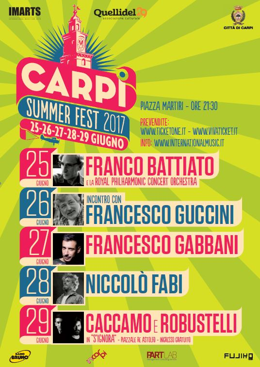 Locandina_Carpi Summer Fest