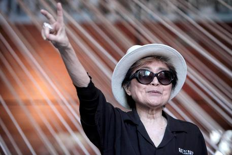 Yoko One receives 'imagine' songwriting credit