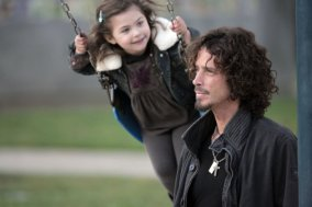 LOS ANGELES, CA - FEBRUARY 18: (L-R) Daughter Toni Cornell and Chris Cornell sighting on February 18, 2009 in Los Angeles, California. (Photo by COP/BuzzFoto/FilmMagic)