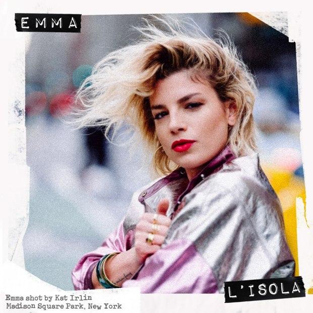 Cover singolo_L'Isola_EMMA
