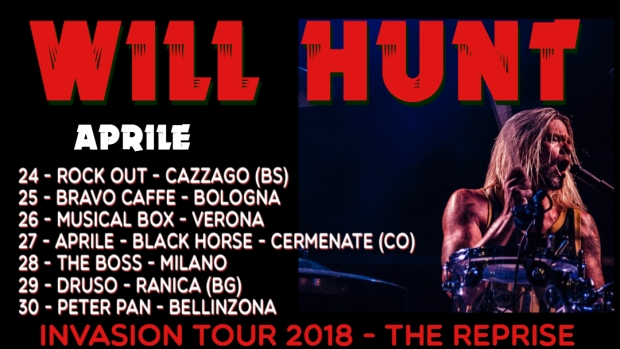 Will Hunt Tour