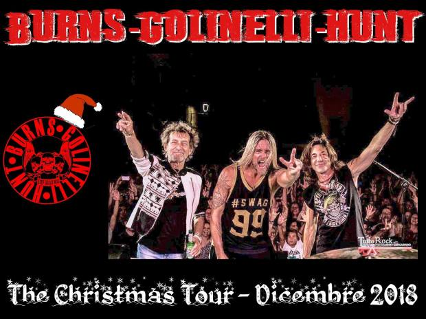 BGH Christmas tour locandina senza date