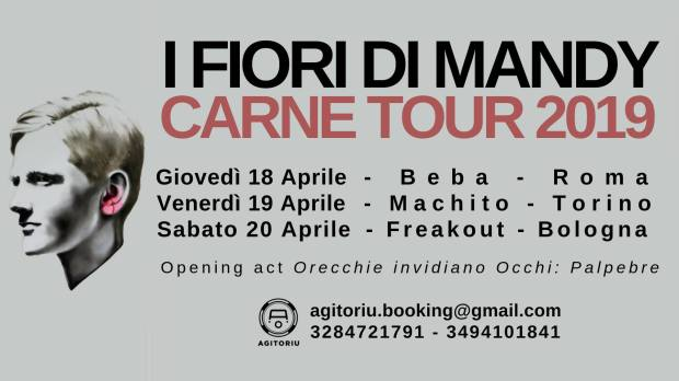 I Fiori di Mandy mini-tour