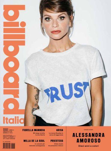 Cover Billboard maggio_Alessandra Amoroso b