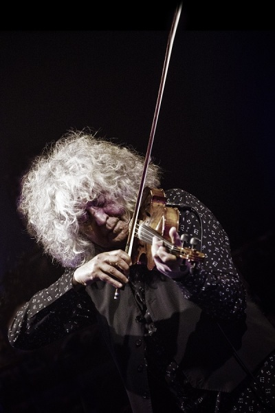 Branduardi violino vert ph Ferdinando Bassi pic