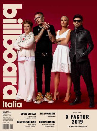 copertina Billboard Italia settembre 2019