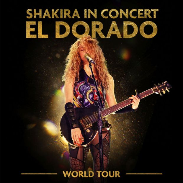 Shakira in concert El Dorado world tour_ b